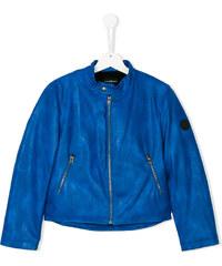 932bfb9540b5 John Richmond Junior printed slogan jacket - Blue