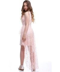Růžové maturitní krátké šaty - Glami.cz 2db40dce258
