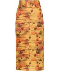 a54a962a248 Lygia   Nanny Orixá midi skirt - Yellow