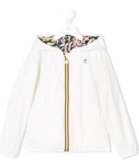 K Way Kids reversible hooded jacket - White e0eb25b0b16