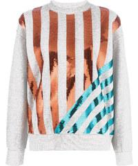 Kenzo sequin striped sweatshirt - Grey 083e551e8b