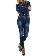 85795d4495d4 Dámský jeansový overal Original Denim - Glami.cz