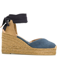 Castañer denim wedge espadrilles - Blue 0b8e30d1ab9