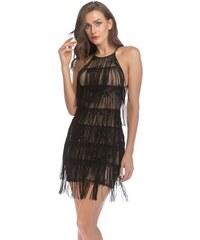 Dámské koktejlové šaty Shienna černé - černá 3c42c00755
