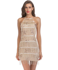 Dámské šaty Shienna zlaté - zlatá 15752a80a8a