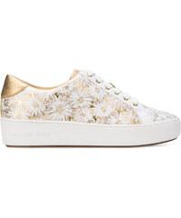 e729e7fc42 Michael Michael Kors floral print sneakers - Metallic