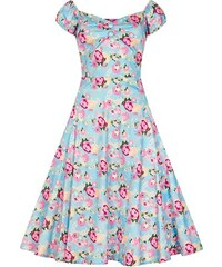 c8fb6f9d32f2 COLLECTIF Dámské retro šaty Dolores pivoňky