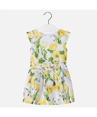548d69945712 MAYORAL dievčenské šaty 3934-057 yellow