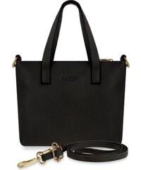World-Style.cz Malá listonoška dámská kabelka do ruky i na rameno - černá 5bbda3e8761