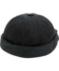 Beton Cire Miki denim sailor cap - Black defed5138d