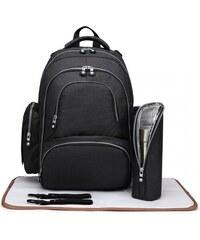 ec7cbfc7d99 Kono Přebalovací batoh s doplňky na kočárek - černý