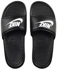 Nike Benassi Just Do It Black White 343880-090 adc4c77c01