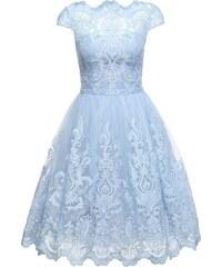 b12bce17b9d Chi Chi London Koktejlové šaty  RHIANNON DRESS  světlemodrá