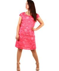 66e2742d263b Růžové letní krátké šaty se vzorem z obchodu TopMode.cz - Glami.cz