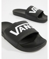 Vans Large Logo Sliders In Black V4KIIX6 - Black c3a4941fe7e