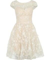 Chi Chi London Koktejlové šaty bílá d5898c7b49