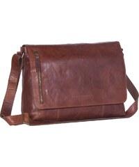 The Chesterfield Brand Klopnová kožená taška přes rameno Maha C48.085931  koňak f250aa15b5f