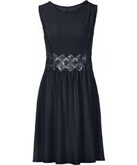 d611932b9d37 Bonprix Džersejové šaty s čipkou