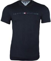 Tommy Hilfiger Pánské černé triko Tommy Hilfiger 9521 9bceda6df52