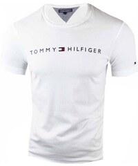 b0a63313dd74 Tommy Hilfiger Pánské bílé triko Tommy Hilfiger 9538