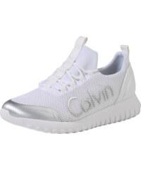 Calvin Klein Jeans Tenisky  RON  bílá 2ad206a740