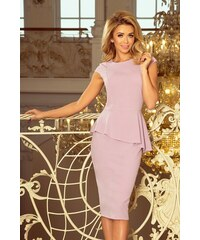 4c8d1ef07e50 Dámske šaty Numoco 192-2 svetlo fialové