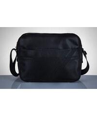SOLIER Pánska čierna taška (MS2 BLACK) ab750c04065