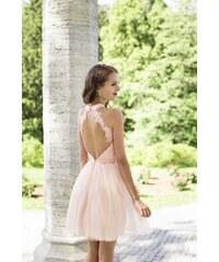 EVA   LOLA Dámské Šaty PAULINE růžové fb89248b47