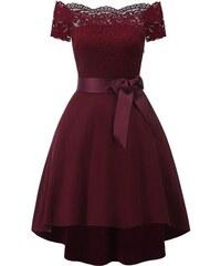 526fcaa2b85e Dámské společenské šaty Reta červené - červená