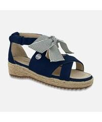 ab9d3a707fbe MAYORAL dievčenské sandále 435895+45895-048 Ocean