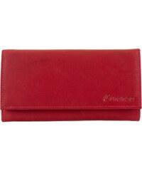 Dámská kožená peněženka Loranzo Amber - Červená 43f7b5af8b