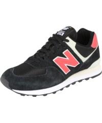 New Balance Sportovní boty  ML574  červená   černá   bílá 6d1a9a051a