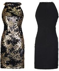 Dámské koktejlové šaty Mya černé - černá 6ca672b2439