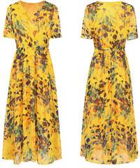 Dámské letní šaty Hestera žluté - žlutá 453d70e534