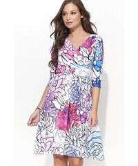 c25bc397d25 MAKADAMIA Dámské šaty Paleta s růžovou