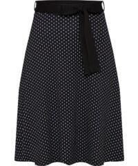 fd65389f895 Černo-bílá sukně ke kolenům