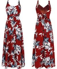 f72c6ab4212 Dámské letní šaty Hilien červené - červená