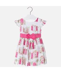 45d93d6e37c6 MAYORAL dievčenské šaty 3940-018 fuxia
