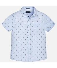 5d19dece66d2 MAYORAL chlapčenské košeľa 6142-015 Lightblue