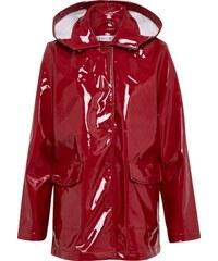 306a061619 EDITED Přechodný kabát  Rika  rubínově červená