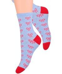 Dámské ponožky se vzorem mašle Steven 099 21 b0f7e128cc
