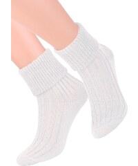 Dámské ponožky na spaní se vzorem proužků 017 1 STEVEN 16325d6485