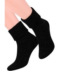 Dámské ponožky na spaní se vzorem proužků 017 1 STEVEN 295b180857