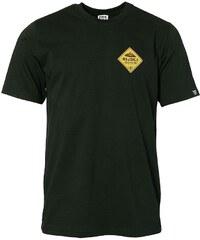 Pánské bavlněné tričko Rejoice - Gentiana Men (černé) 056d358763