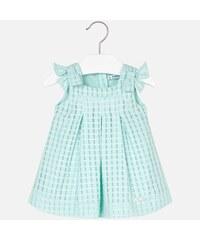 b7d682cbf225 Mayoral dievčenské šaty 1910-064 Aqua