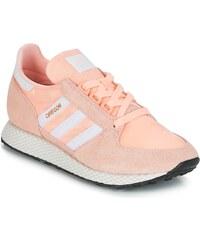 Klasické ružové dámske tenisky Adidas - Glami.sk 5eec8c41aeb