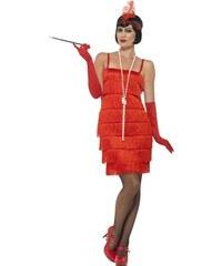 99449c6fba9d Smiffys Charleston šaty 30. léta červené