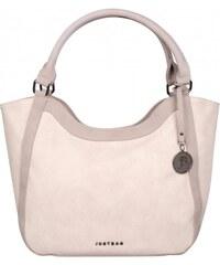 JustBag růžová kabelka 40a3b18cef2