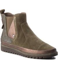 Členková obuv JANA - 8-25403-21 Olive 722 6b5943cf16