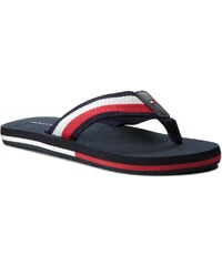 Žabky TOMMY HILFIGER - Corporate Mesh Beach Sandal FM0FM01826 Midnight 403 0e797620582